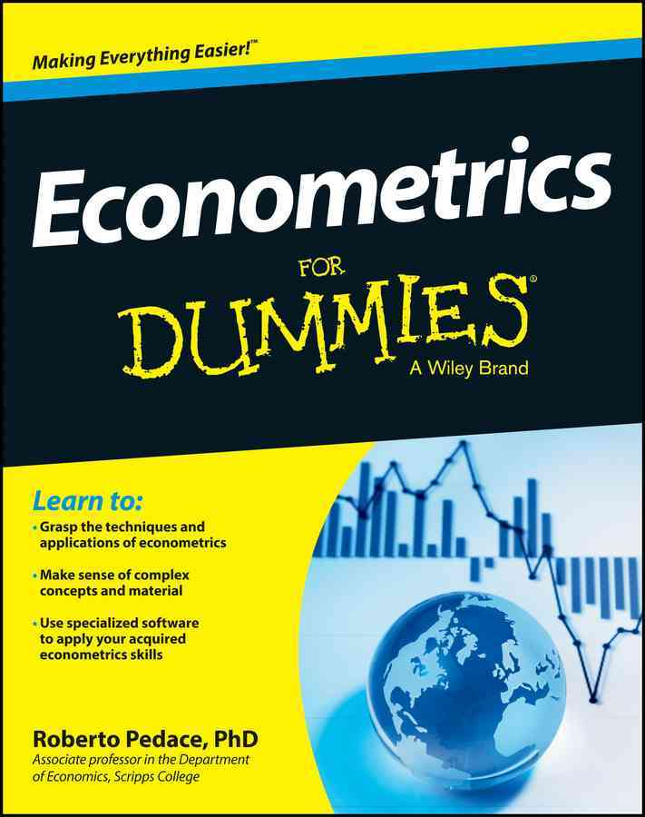 Econometrics for Dummies By Pedace, Roberto